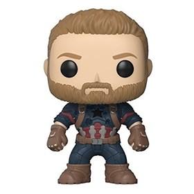 Funko Pop Captain America #288 - Capitão América Guerra Infinita - Infinity War - Marvel