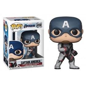 Funko Pop Captain America #450 Capitão América - Vingadores Ultimato - Avengers Endgame - Marvel