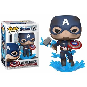 Funko Pop Captain America #573 - Avengers Endgame - Vingadores Ultimato - Marvel