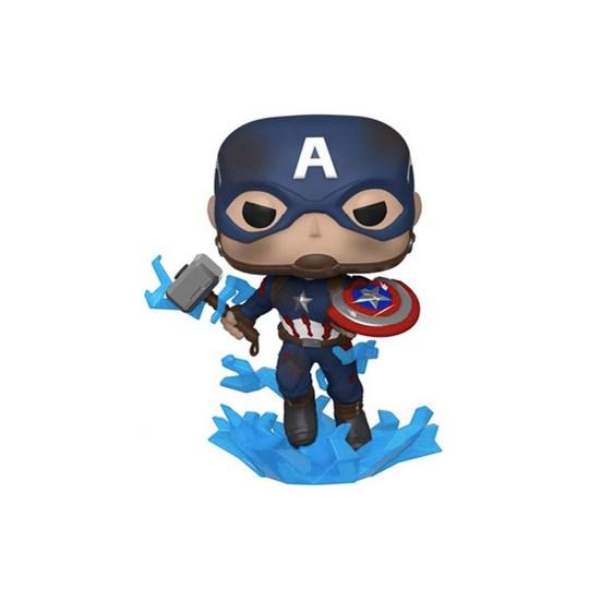 Funko Pop Captain America #573 - Avengers Endgame - Vingadores Ultimato - Marvel