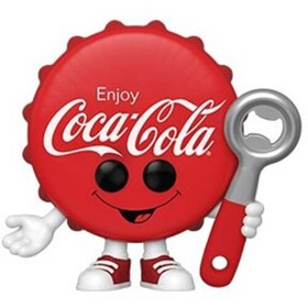 Funko Pop Coca-Cola Bottle Cap - Tampinha da Coca-Cola #79 - Coca-Cola - Pop Ad Icons!