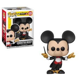Funko Pop Conductor Mickey #428 - 90th Anniversary - Mickey Maestro - Disney