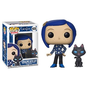 Funko Pop Coraline with cat #422 - Coraline