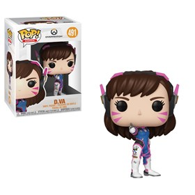 Funko Pop D.Va #491 - Overwatch - Games
