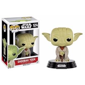 Funko Pop Dagobah Yoda #124 - Star Wars