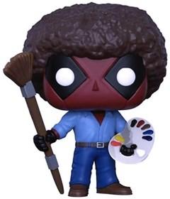 Produto Funko Pop Deadpool as Bob Ross #319 - Deadpool - Marvel