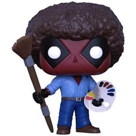 Funko Pop Deadpool as Bob Ross #319 - Deadpool - Marvel