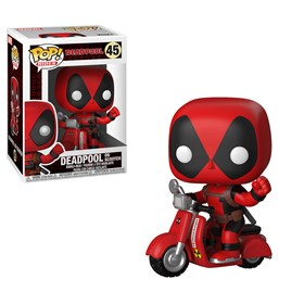 Funko Pop Deadpool on Scooter #48 - Marvel - Pop! Rides