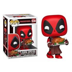 Funko Pop Deadpool Supper Hero #534 - Deadpool Peru de Natal - Marvel