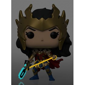 Funko Pop Death Metal Wonder Woman #385 - Chase Special Edition - DC Comics