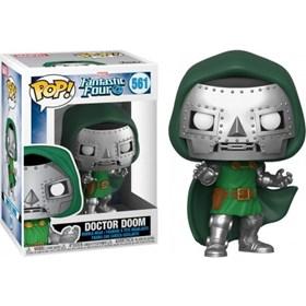 Funko Pop Doctor Doom #561 - Doutor Destino - Fantastic Four - Quarteto Fantástico - Marvel