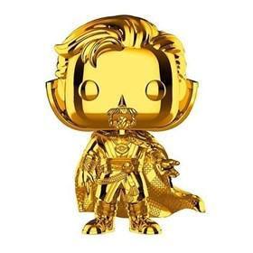 Funko Pop Doctor Strange Gold Chrome #439 - Dourado 10 Years Edition - Marvel