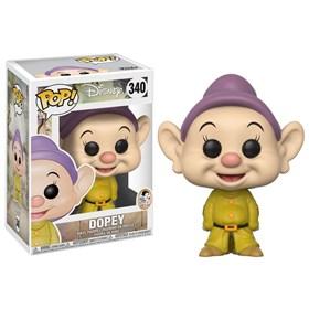 Funko Pop Dopey #340 - Dunga - Branca de Neve e os Sete Anões - Snow White - Disney