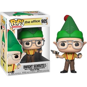 Funko Pop Dwight Schrute as elf #905 - The Office