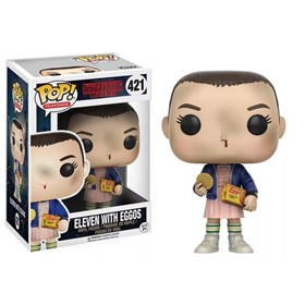 Funko Pop Eleven With Eggos #421 - Stranger Things