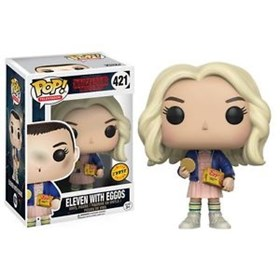 Funko Pop Eleven With Eggos Chase Edition #421 - Stranger Things