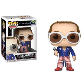 Funko Pop Elton John Red White & Blue #63 - Pop! Rocks