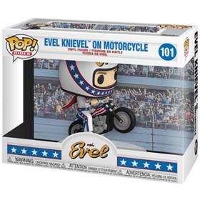 Funko Pop Evel Knievel on Motorcycle #101 - Pop Rides!