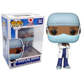 Funko Pop Female #2 Special Edition - Frontline Heroes