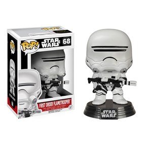 Funko Pop Flametrooper First Order #68 - Os Últimos Jedi - Star Wars