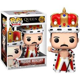 Funko Pop Freddie Mercury #184 - Queen - Pop Rocks!