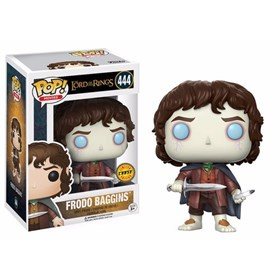 Funko Pop Frodo Baggins Chase Edition #444 - O Senhor Dos Anéis - Lord of the Rings