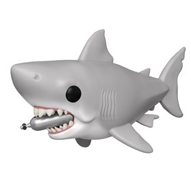 Funko Pop Great White Shark w/ Diving Tank #759 -  Tubarão - Jaws 15 cm