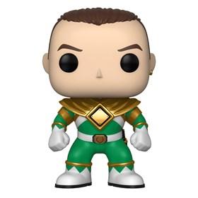 Funko Pop Green Ranger #669 - Tommy No Helmet - Power Rangers Verde
