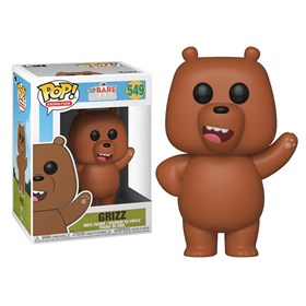 Funko Pop Grizz #549 Pardo - Ursos sem Curso - Bare Bears - Animation