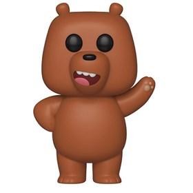 Funko Pop Grizz #549 Pardo - Ursos sem Curso - Bare Bears - Animation