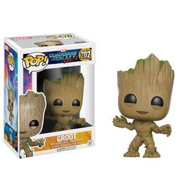 Funko Pop Groot #202 - Guardiões da Galáxia 2 - Marvel