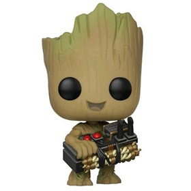 Funko Pop Groot with Bomb Exclusive Toysrus #263 - Toys R Us - Marvel