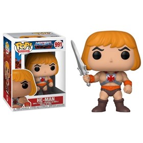 Funko Pop He-Man #991 - Masters of the Universe - He-Man e os Mestres do Universo