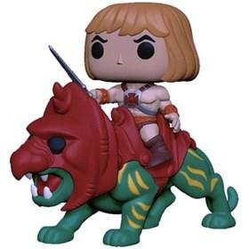 Funko Pop He-Man on Battle Cat He-Man no Gato Guerreiro #84 - Masters of the Universe - He-Man e os
