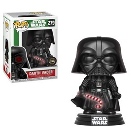 Funko Pop Holiday Darth Vader Candy Cane Chase Edition #279 - Star Wars