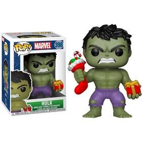 Funko Pop Holiday Hulk #398 - Hulk de Natal - Marvel