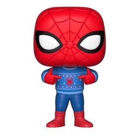 Funko Pop Holiday Spider-man #397 - Spider com Sweater - Marvel