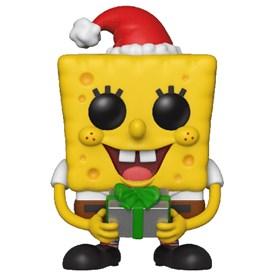 Funko Pop Holiday SpongeBob #453 - Bob Esponja de Natal