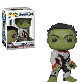 Funko Pop Hulk #451 - Vingadores Ultimato - Avengers Endgame - Marvel