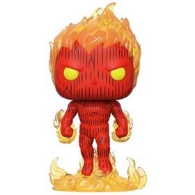 Funko Pop Human Torch #559 - Tocha Humana - Fantastic Four - Quarteto Fantástico - Marvel