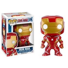 Funko Pop Iron Man #126 - Vingadores Guerra Civil - Avengers Civil War - Marvel
