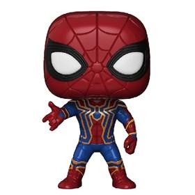 Funko Pop Iron Spider #287 Aranha de Ferro - Infinity War - Vingadores Guerra Infinita - Marvel