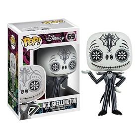 Funko Pop Jack Skellington Day of the Dead #69 - O Estranho Mundo de Jack - Disney