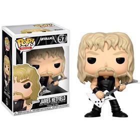 Funko Pop James Hetfield #57 - Metallica - Pop Rocks!