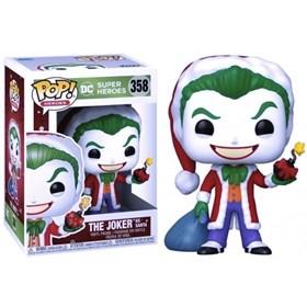 Funko Pop Joker as Santa #358 - DC Comics