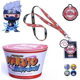 Funko Pop Kakashi & Noodles Latam Exclusive Collector Box #822 - Naruto
