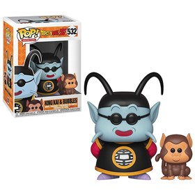 Funko Pop King Kai & Bubbles #532 - Dragon Ball Z- Animation