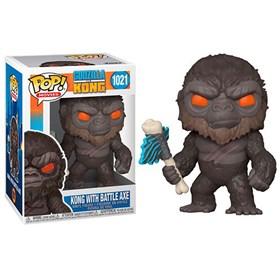 Funko Pop Kong with battle axe #1021 - Godzilla vs Kong