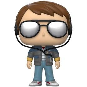 Funko Pop Marty with Glasses #958 - Back to the Future - De Volta para o Futuro
