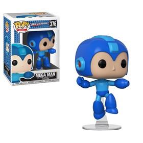 Funko Pop Mega Man Jumping #376 - Mega Man - Games